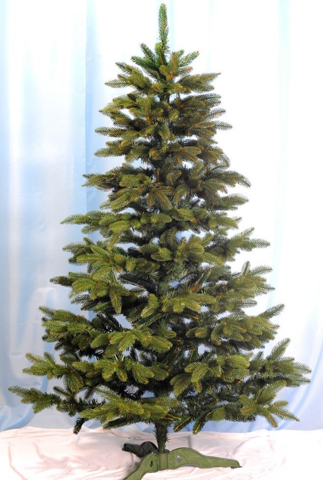 Ель искусственная литая Смерека зелёная 1.50м 150см
