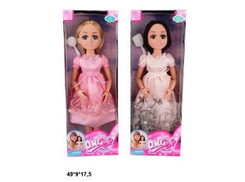 Лялька 45см 18002A з аксес, 2в, кор. 49*9*17,5 см