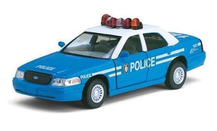 Машина KT5342AW FORD CROWN VICTORIA POLICE INTERCEPTOR (BLUE)