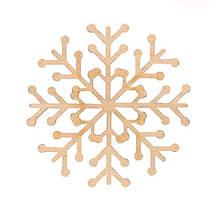 """Заготівля """"Сніжинка"""" 1, фанера, Д:10см, ROSA TALENT код:4801511"""