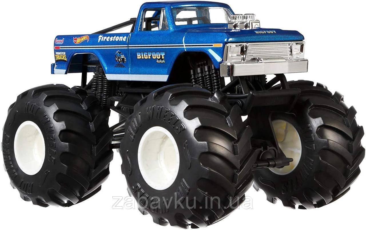 Hot Wheels Monster Truck Bigfoot Внедорожник хот вилс Монстер Трак Монстер Джем Monster Jam джип