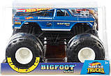 Hot Wheels Monster Truck Bigfoot Внедорожник хот вилс Монстер Трак Монстер Джем Monster Jam джип, фото 3