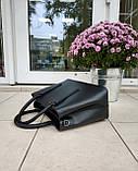 Большая женская сумка Италия натуральная кожа, фото 5