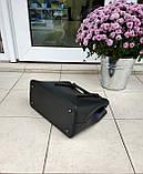 Большая женская сумка Италия натуральная кожа, фото 6