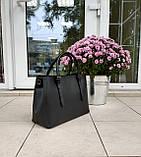 Большая женская сумка Италия натуральная кожа, фото 2