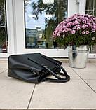 Большая женская сумка Италия натуральная кожа, фото 4