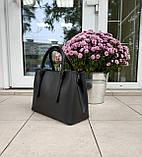 Большая женская сумка Италия натуральная кожа, фото 3