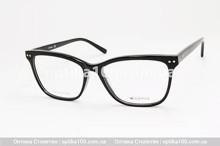 Женская БОЛЬШАЯ черная оправа для очков. На среднее лицо или лицо больше среднего, фото 2