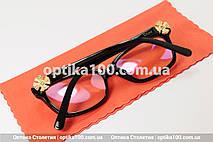Женские имиджевые очки в стиле Dior. На среднее или небольшое лицо, фото 2