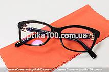 Женские имиджевые очки в стиле Dior. На среднее или небольшое лицо, фото 3