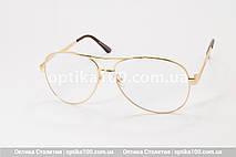 Большие очки для зрения АВИАТОР. Линза с антибликом. +2,0 РМЦ 68 мм, фото 2