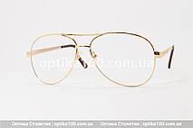 Большие очки для зрения АВИАТОР. Линза с антибликом. Для РМЦ от 66 до 74 мм., фото 3