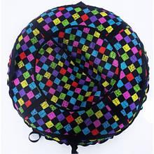Тюб кольоровий Кубики, надувні санки, 100 см / Тюбінг кольоровий Кубики (надувні санки, ватрушки, тобогани)