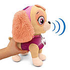 Мягкая  интерактивная игрушка Щенячий патруль - Скай | Мягкая Игрушка Щенячий Патруль на поводке, фото 3