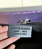 Стильная женская сумка Италия натуральная кожа, фото 7