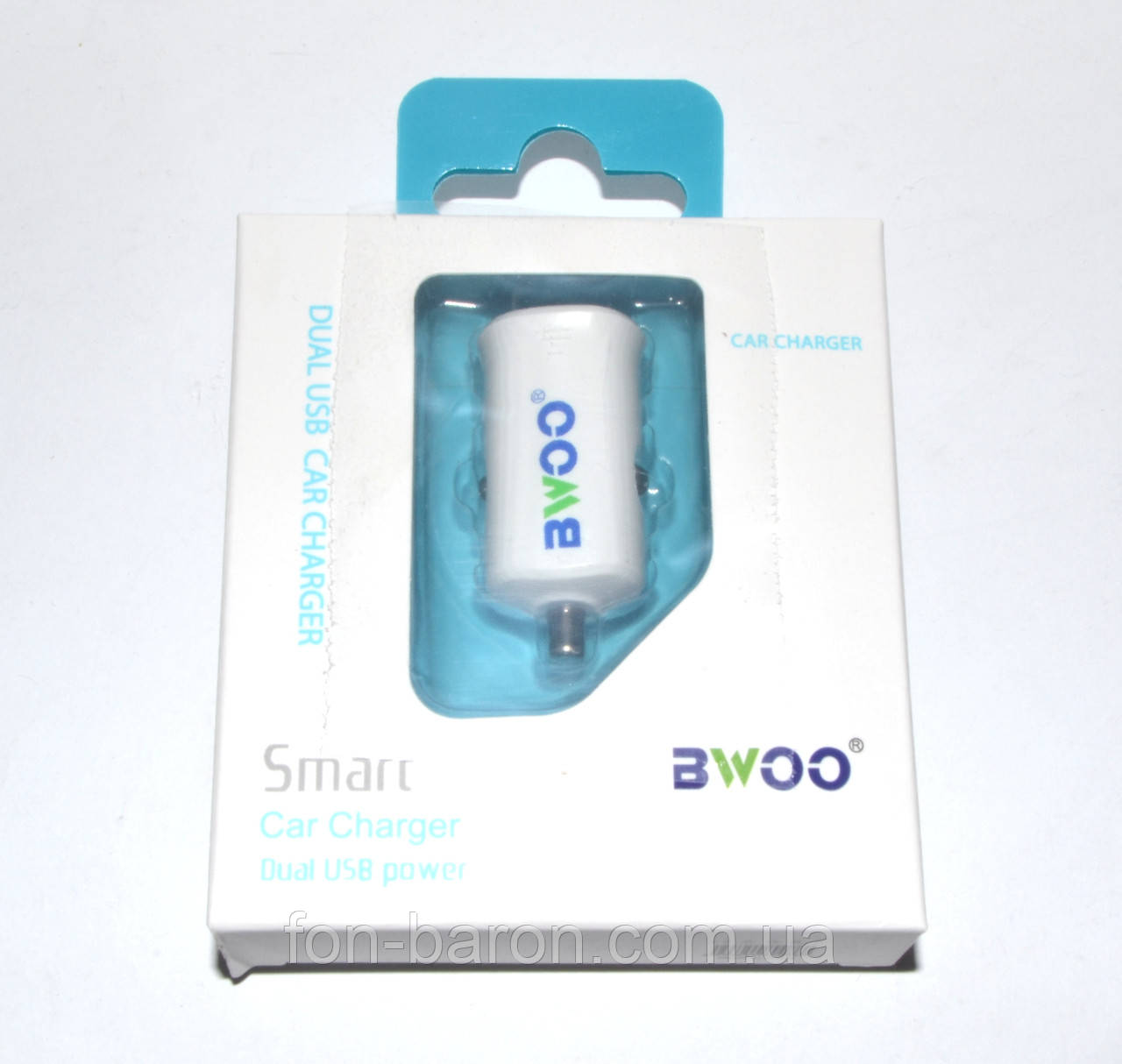Автомобильная зарядка BWOO Smart USB , фото 1