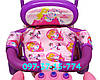 Трехколесный Детский Велосипед с Родительской Ручкой Baby Club 16S Princess Story Принцесса Сиренево-Розовый, фото 6