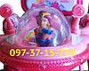 Трехколесный Детский Велосипед с Родительской Ручкой Baby Club 16S Princess Story Принцесса Сиренево-Розовый, фото 8