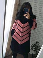 Пальто женское из шерсти альпака