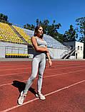 Женский спортивный костюм Lameia Серый, фото 5