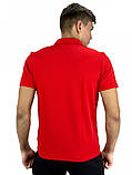 Футболка Polo Nike (Найк) красная, фото 3