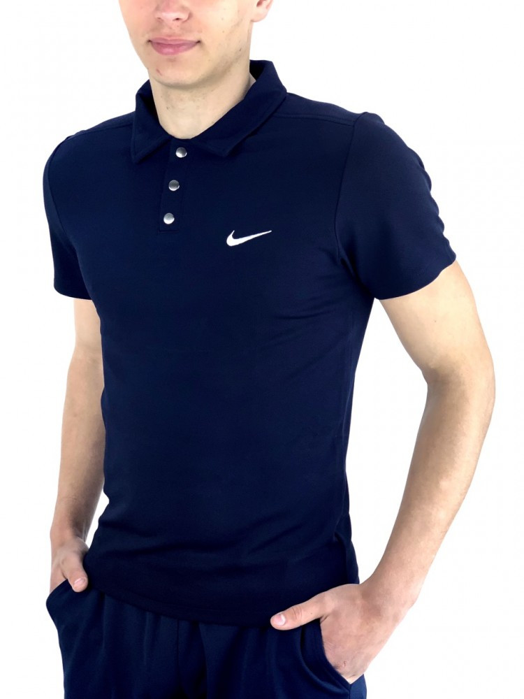 Футболка Polo Nike Синий