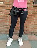 Пояс с навесными карманами черный, фото 5