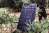 Чехол для (Iphone 8+) alligator black, фото 2