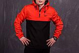 ДУЭТ -TWIX Анорак оранжево- черный + рюкзак черный, фото 2