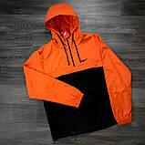 ДУЭТ -TWIX Анорак оранжево- черный + рюкзак черный, фото 4