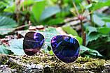 Солнцезащитные очки Aviator cиние, фото 2