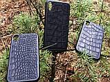 Чехол для (Iphone 10XR) alligator black, фото 3