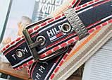 Мужской тканевый ремень Tommy Hilfiger сине-красный, фото 2