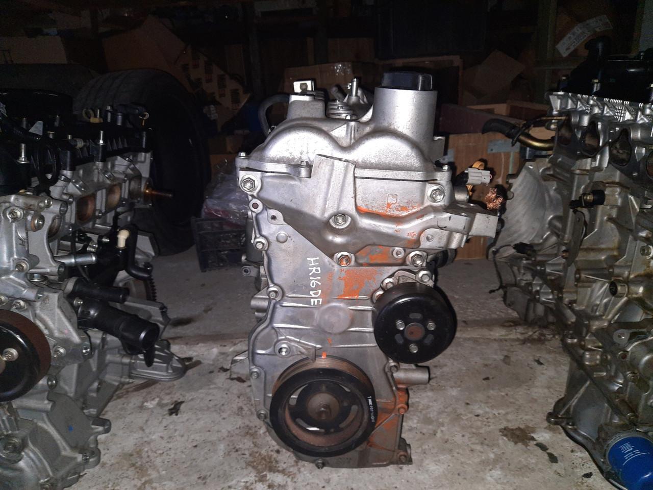 Двигатель HR16DE Nissan Note Tiida C11 Micra K12 1.6i 10102BC23F 101029U01G