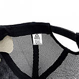 Тракер кепка Nike черный Большой логотип, фото 3