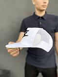 Тракер кепка Nike белый Большой логотип, фото 2