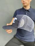 Тракер кепка UFC серый Большой логотип, фото 2