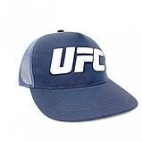 Тракер кепка UFC серый Большой логотип, фото 5