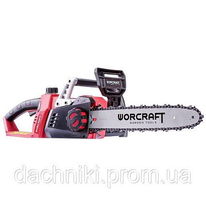 Электропила аккумуляторная цепная Worcraft CGC-S40Li, фото 2