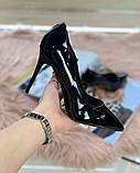 Женские Туфли лодочки черные, фото 2