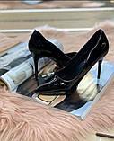 Женские Туфли лодочки черные, фото 3