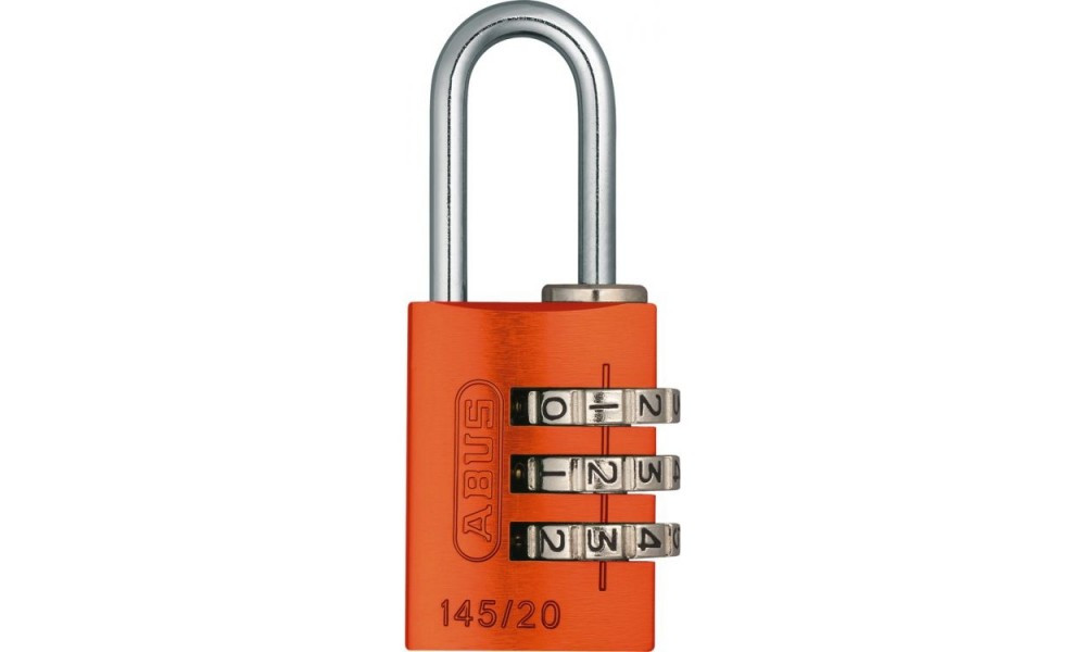 Замок навісний ABUS 145/20 Combination Lock Orange 478505