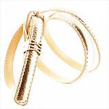Ремень Weatro Золотой 0027zh-1,5kz, фото 2