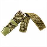 Ремень резинка Weatro Зелёный (хаки) 0078rez-3.5k, фото 2