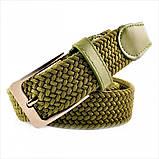 Ремень резинка Weatro Зелёный (хаки) 0078rez-3.5k, фото 3