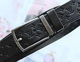 Женский кожаный ремень Louis Vuitton черный, фото 3