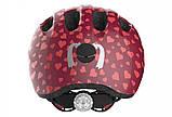 Велосипедний дитячий шолом ABUS SMILEY 2.0 S 45-50 Cherry Heart 869556, фото 4