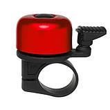 Дзвоник Green Cycle GBL-02A 35мм Red, фото 2