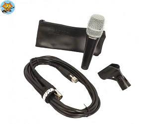 Микрофон инструментальный Shure PG57XLR динамический