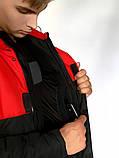 Демисезонная Куртка Waterproof Intruder (красно - черный), фото 4